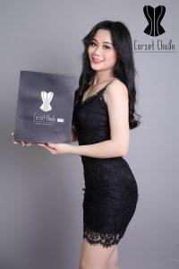 latex hy Lạp corset chuẩn